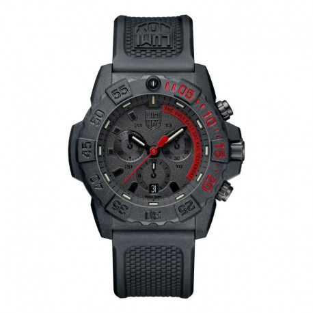 Luminox® Armbanduhr 3581.EY Navy Seal 3580 Serie, schwarz (45 mm)