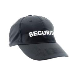 COP® Basecap mit Stick - SECURITY vorne, klein, Stickfarbe weiß, Einheitsgröße