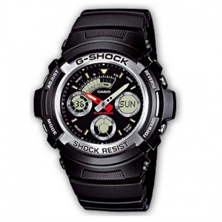 CASIO® G-Shock AW-590-1AER Armbanduhr, ø 46mm