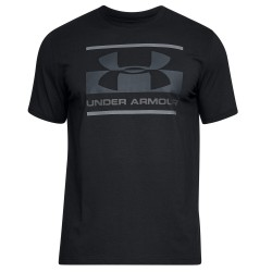Under Armour® T-Shirt  Boxed Logo HeatGear®, Charged Cotton®, loose