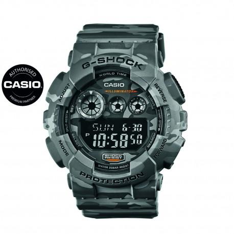 CASIO® GD-120CM-8ER G-Shock, camo, ø 55mm
