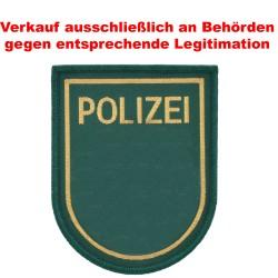 Klettabzeichen Polizei Bayern - Textil (90 x 72 mm)