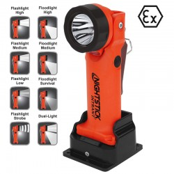 Nightstick® LED Akku-Winkellampe XPR5568RX (12V/220V Ladegerät), Ex geprüft