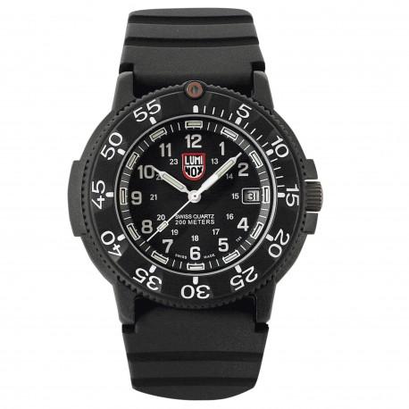Luminox® Armbanduhr 3001 Original Navy Seal 3000 Serie , schwarz/weiß (43 mm)