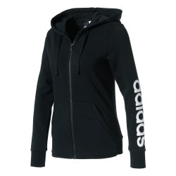 adidas® ESSENTIALS LINEAR Ladies Hooded Jacket climalite®