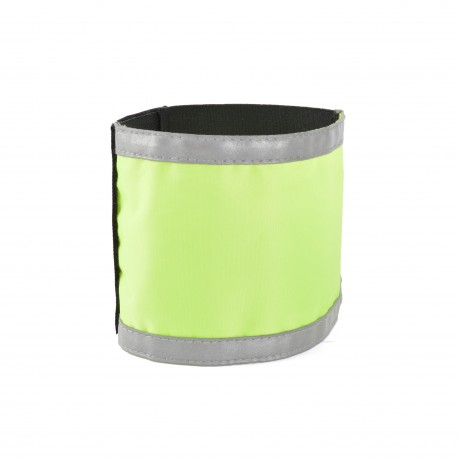 armlet with reflectivs stripes neon yellow without printing