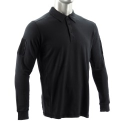 CANNAE Langarm Poloshirt