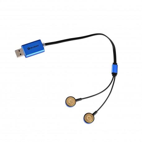 OLIGHT(TM) UC USB-Universalladegerät für die meisten handelsüblichen Akkus
