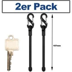 NiteIze(TM) Gear Tie® schlaufbarer Biegehalter  CLIPPABLE TWIST (2er Pack)
