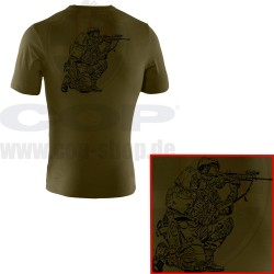 Under Armour® Tactical T-Shirt with COP SEK Logo Charged Cotton® HeatGear® Loose
