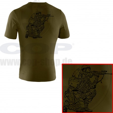 36f095857 Under Armour® Tactical T-Shirt with COP SEK Logo Charged Cotton® HeatGear®  Loose - COP® Shop