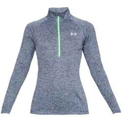 Under Armour® Damen Pullover 1/2 Zip,  UA Tech(TM), HeatGear®, loose
