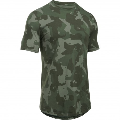 Under Armour® Charged Cotton® Camo T-Shirt, HeatGear®, fitted