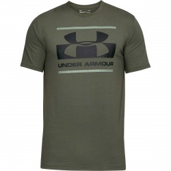 "Under Armour® T-Shirt ""Camo Boxed Logo"" HeatGear®, Charged Cotton®, loose"