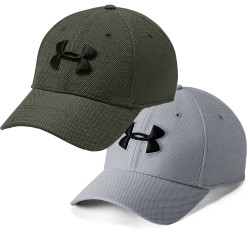 Under Armour® Basecap Heathered Blitzing 3.0 Stretch Fit HeatGear®