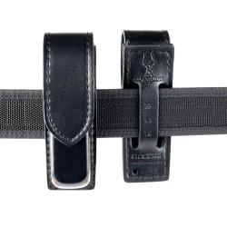 SAFARILAND® 76 PLAIN Magazintasche in Lederoptik, 58 mm Gürtelschlaufe