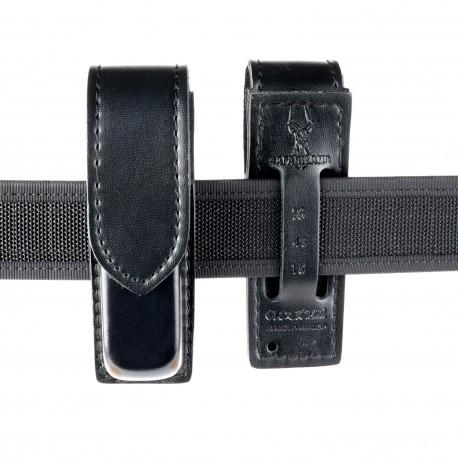 SAFARILAND model 76 single mag pouch, plain w/hidden button