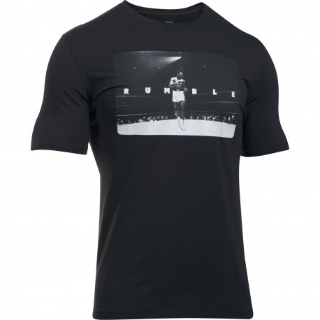 "Under Armour® T-Shirt ""Ali Rumble Photo"" Charged Cotton®, HeatGear®, loose"