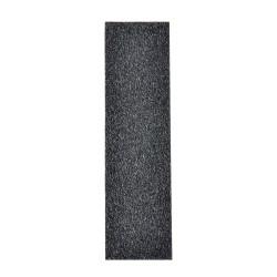 TALON(TM) Materialblatt klein, gummiert schwarz, Zuschnitt 2,5 x 10 cm
