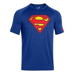"""Under Armour ® Mens T-Shirt """"Tech Superman"""" HeatGear®"""