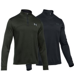 "Under Armour® Collar Sweater 1/4 Zip ""Icon"" ColdGear® loose"