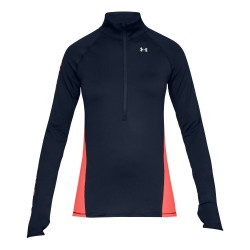 Under Armour® Damen Pullover 1/2 Zip, ColdGear®, fitted