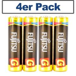 FUJITSU®  AAA LR03 Alkaline Batterie 4pc Blisterpack