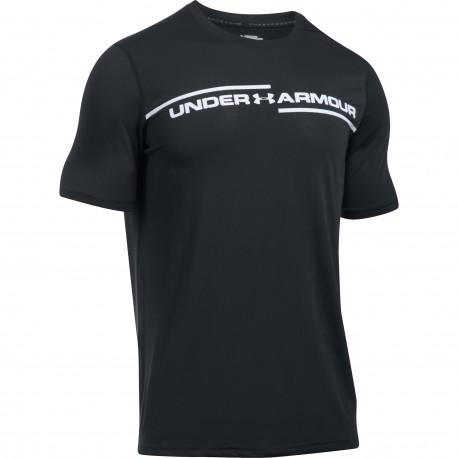 "Under Armour® T-Shirt ""Cross Chest"" Threadborne(TM), HeatGear®, loose"