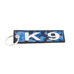 Key Holder K9 with ring, textile (125 x 35 mm)