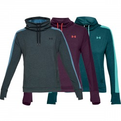 "Under Armour® Womens Fleece Funnel Collar Pullover ""Featherweight"" loose"