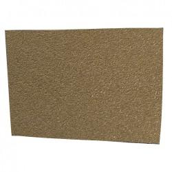 TALON(TM) Materialblatt groß, gummiert beige (Moss), Zuschnitt 12,5 x 17,5 cm