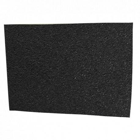 TALON(TM) Materialblatt groß, gummiert schwarz, Zuschnitt 12,5 x 17,5 cm
