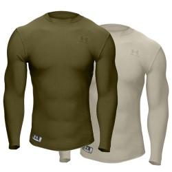 Under Armour® Tactical Langarm Crew Shirt ColdGear®, Compression