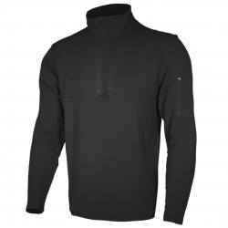 CANNAE Combat 1/4 Zip stand-up collar sweater with zip pockets