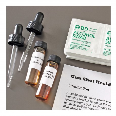 FORENSICSSOURCE(TM) Gunshot Residue Presumptive Test Kit