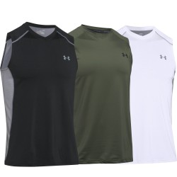 "Under Armour® V-Neck Tank Top ""Raid"" HeatGear®"