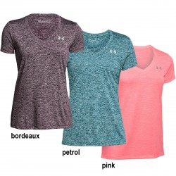 Under Armour® Ladies T-Shirt Tech - Twist HeatGear®, loose