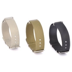 Nato Nylon Strap Watchband with stainless steel buckle