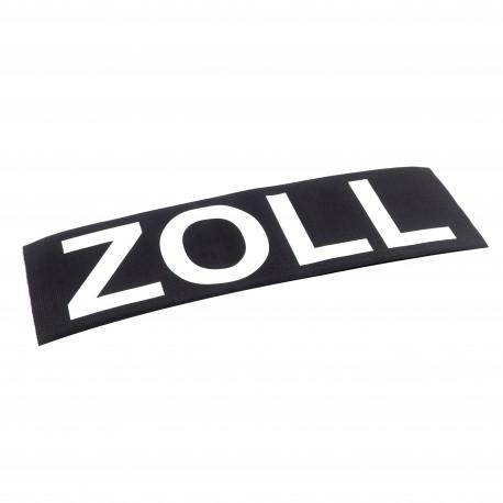 Aufschrift, nicht-reflektierend, ZOLL, 33 x 10 cm