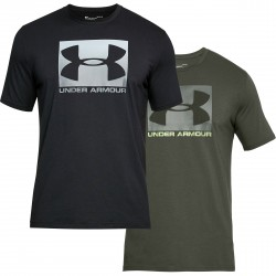 "Under Armour® T-Shirt ""Boxed Logo"" HeatGear®, Charged Cotton®, loose"