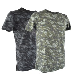 Under Armour® T-Shirt Sportstyle Camo, Charged Cotton®, HeatGear®, fitted
