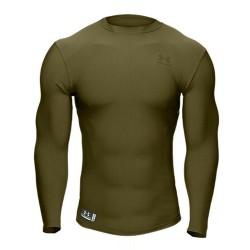 Under Armour® Tactical Langarm Crew Shirt ColdGear®, Compression, Gr.3XL