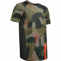 """Under Armour® T-Shirt """"MK1 Printed"""" HeatGear®, fitted"""