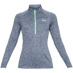 Under Armour® Damen Pullover 1/2 Zip,  UA Tech(TM), HeatGear®, loose, Gr.L