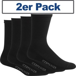Icebreaker® Socks Lifestyle Light Crew 2er Pack