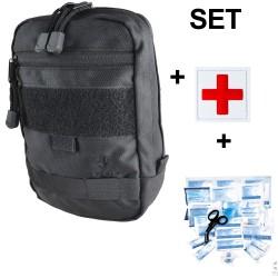 COP® Erste-Hilfe-Set Molle inkl Patch Red Cross u. Verbandstofffüllung DIN13157