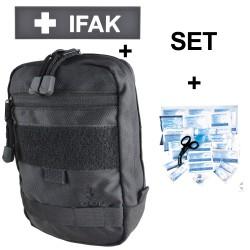 COP® Erste-Hilfe-Set Molle inkl Patch IFAK u. Verbandstofffüllung DIN13157