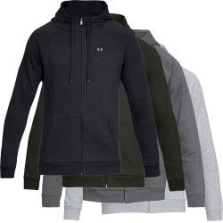 Under Armour® Herren Kapuzenjacke Rival Fleece ColdGear®, fitted