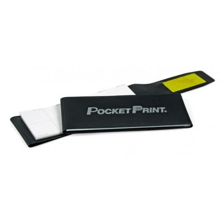 Identicator® Fingerabdrucksatz tintenlos  im Notizblockformat (Kissen, 50 Blatt)