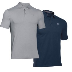 "Under Armour® Men Poloshirt ""Scramble"" Charged Cotton®, HeatGear®, loose"